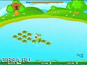 Флеш игра онлайн Чимпи попрыгун