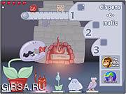 Флеш игра онлайн Зимнее спасение чомпи по