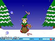 Флеш игра онлайн Рождественский Мешок Их Всех / Christmas Bag 'Em All