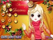Флеш игра онлайн Рождественские Карточки Дизайн / Christmas Card Design
