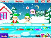 Флеш игра онлайн Рождественское печенье / Christmas_Cookies_Treat