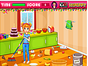 Флеш игра онлайн Рождественская уборка