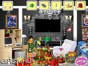 Флеш игра онлайн Найти предметы - Рождество / Christmas Hidden Objects