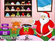 Флеш игра онлайн Рождественская магия от Санты