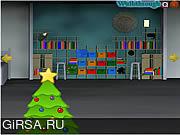 Флеш игра онлайн Рождественские Сейфы Зал Побег / Christmas Safes Room Escape