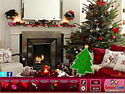 Флеш игра онлайн Рождественский киоск. Скрытые предметы / Christmas Stall Hidden Objects