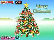 Флеш игра онлайн Рождественский Декор Дерево / Christmas Tree Decor