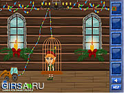 Флеш игра онлайн Рождественское приключение / Christmas trouble