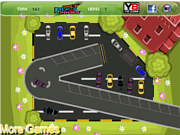 Флеш игра онлайн Парковка: церковь / Church Car parking