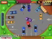 Флеш игра онлайн Поездка в кинотеатр парковка / Cinema Drive in parking