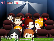 Флеш игра онлайн Поцелуй кино / Cinema Kiss