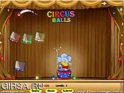 Флеш игра онлайн Circus Balls