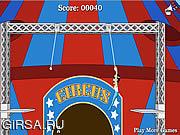 Флеш игра онлайн Circus of Idiots - Trapeze