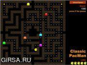 Флеш игра онлайн Пакмен / Classic PacMan