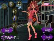 Флеш игра онлайн Клодин Вульф и школный наряд