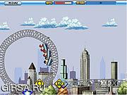 Флеш игра онлайн Rollercoaster Rush