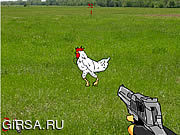 Флеш игра онлайн Стрелок по Цыпочкам / Cock Shooter