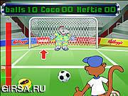 Флеш игра онлайн Коко пенальти
