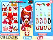 Флеш игра онлайн Цветные девчонки - Рождественский шоппинг / Color Girls Christmas Shopping
