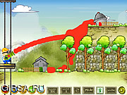Флеш игра онлайн Color The Town