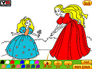 Флеш игра онлайн Coloring 8 Princesses