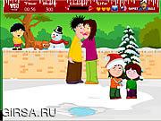 Флеш игра онлайн Comical Family