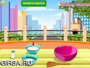 Флеш игра онлайн Печем пончики / Cook Donuts