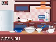 Флеш игра онлайн Готовим ванильное мороженое