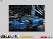 Флеш игра онлайн Автомобильный пазл / Cool Cars Puzzle