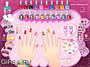 Флеш игра онлайн Холодный Manicure
