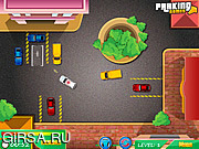 Флеш игра онлайн Парковка полицейской машины