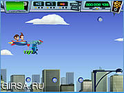 Флеш игра онлайн Джимми и Тимми час силы 2: второй пилот хаос