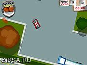 Флеш игра онлайн Полицейский патруль / Police Rural Rampage