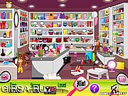 Флеш игра онлайн Косметический магазин. В поисках предметов / Cosmetics Shop Checks