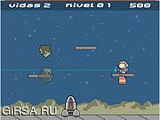 Флеш игра онлайн Летчик-Космо / Cosmo Pilot