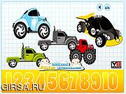 Флеш игра онлайн Подсчет скрытых Автомобилей / Counting Hidden Cars
