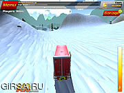 Флеш игра онлайн Crash Drive 2: Christmas