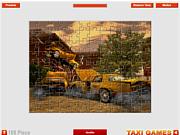Флеш игра онлайн Авария на такси / Crash Taxi