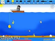 Флеш игра онлайн Crazy Fishing