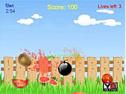 Флеш игра онлайн Crazy Fruits Killer