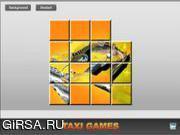 Флеш игра онлайн Сумасшедшее такси / Crazy Taxi Sliding