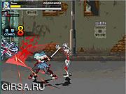Флеш игра онлайн Сумасшедшие зомби v2-это.0 / Crazy Zombie v2.0