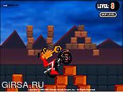 Флеш игра онлайн Страшный всадник / Creepy Rider
