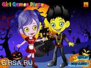 Флеш игра онлайн Creepy Zombie Couple
