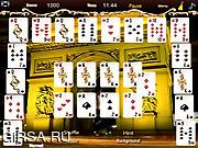 Флеш игра онлайн Веселый пасьянс
