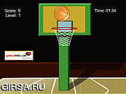 Флеш игра онлайн Crazy Basket