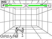 Флеш игра онлайн Cube Combat