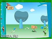 Флеш игра онлайн Счастливые Друзья Дерева - Охота Детеныша 2