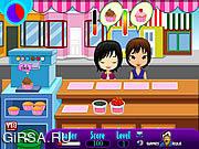 Флеш игра онлайн Cupcake Shop