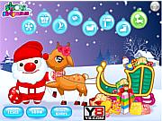 Флеш игра онлайн Рождественский олень / Cute Christmas Reindeer
